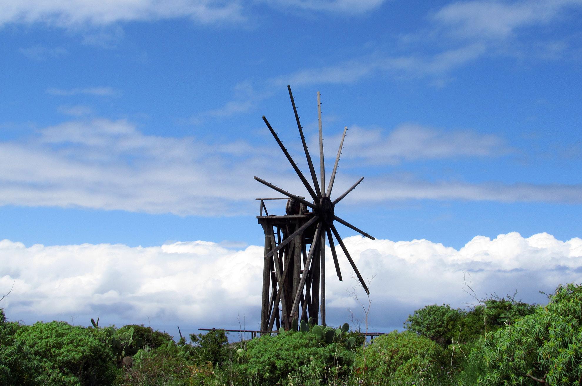 turismo rurale La Palma Canarie Mulino