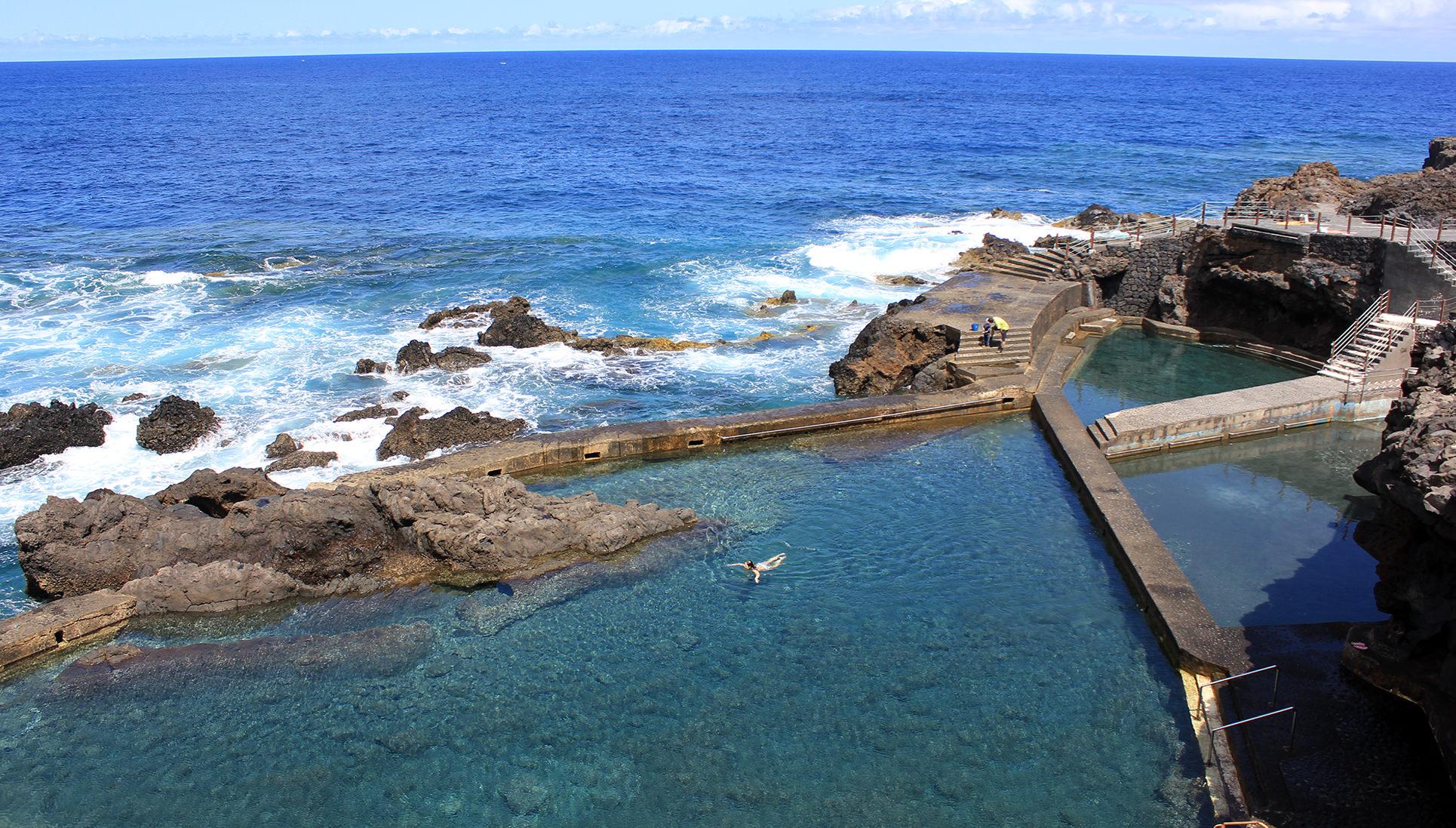 le spiaggie più belle de la Palma Canarie piscinas-de-la-fajana