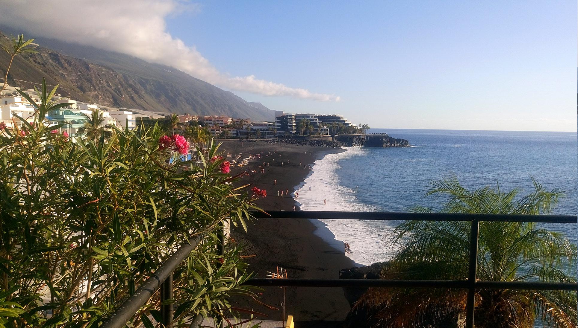 le spiaggie più belle de la Palma Canarie puerto-naos