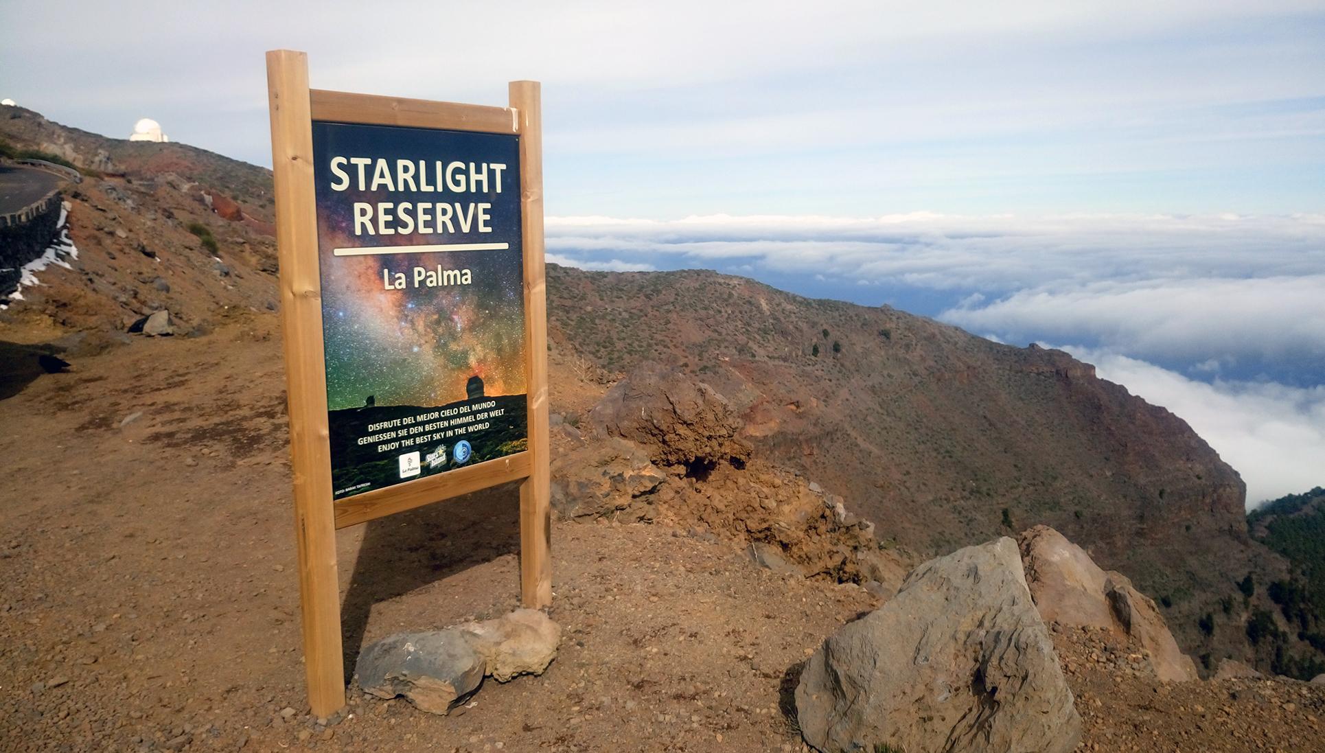 Astroturismo La Palma Isole Canarie reserva-starlight