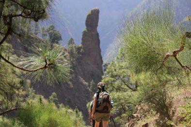 trekking camminata escursione la palma la caldera de taburiente
