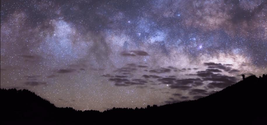 La Palma Stars Timelapse