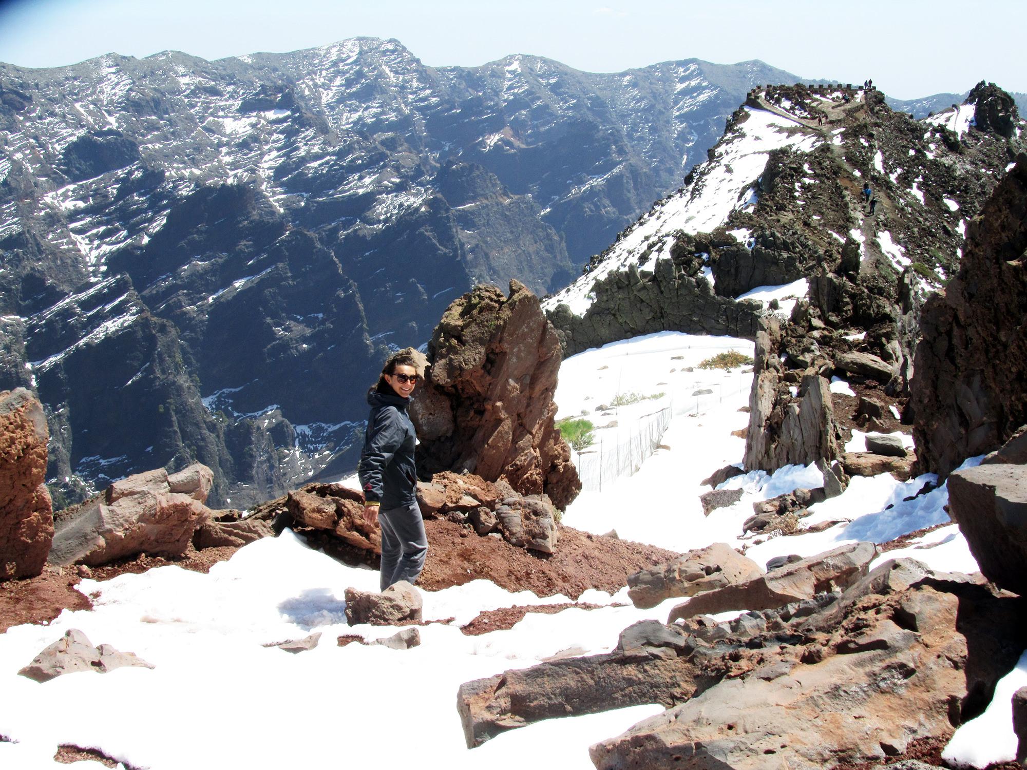 le più belle camminate de La Palma roque-de-los-muchachos-con-neve
