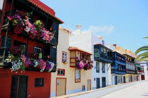Balconi di S. Cruz de La Palma Natural Canarie