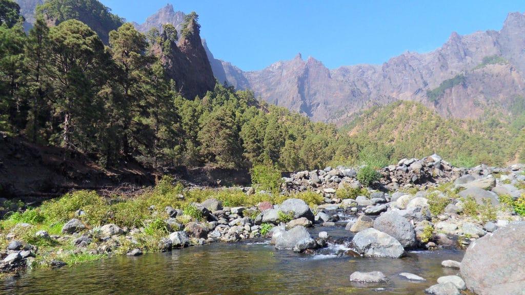trekking camminate escursioni la palma la caldera de taburiente