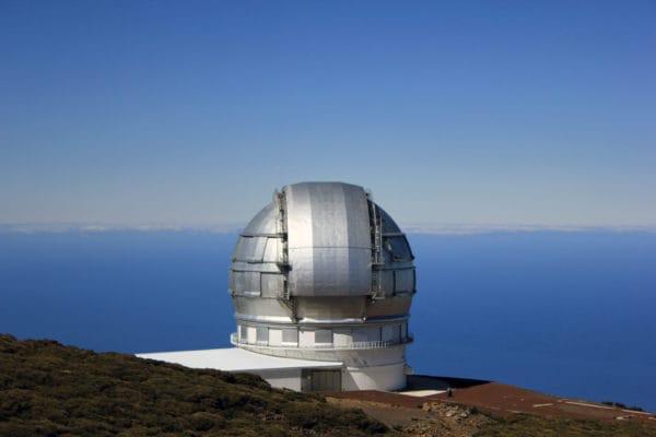 Guida turistica de La Palma Canarie Osservatorio Astronomico roque de Los Muchachos