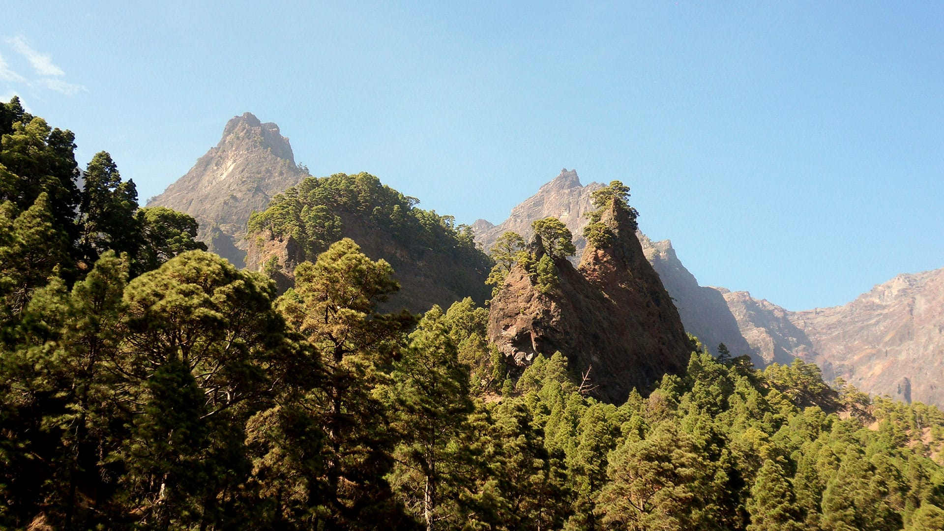 le più belle camminate de la Palma La Caldera de Taburiente