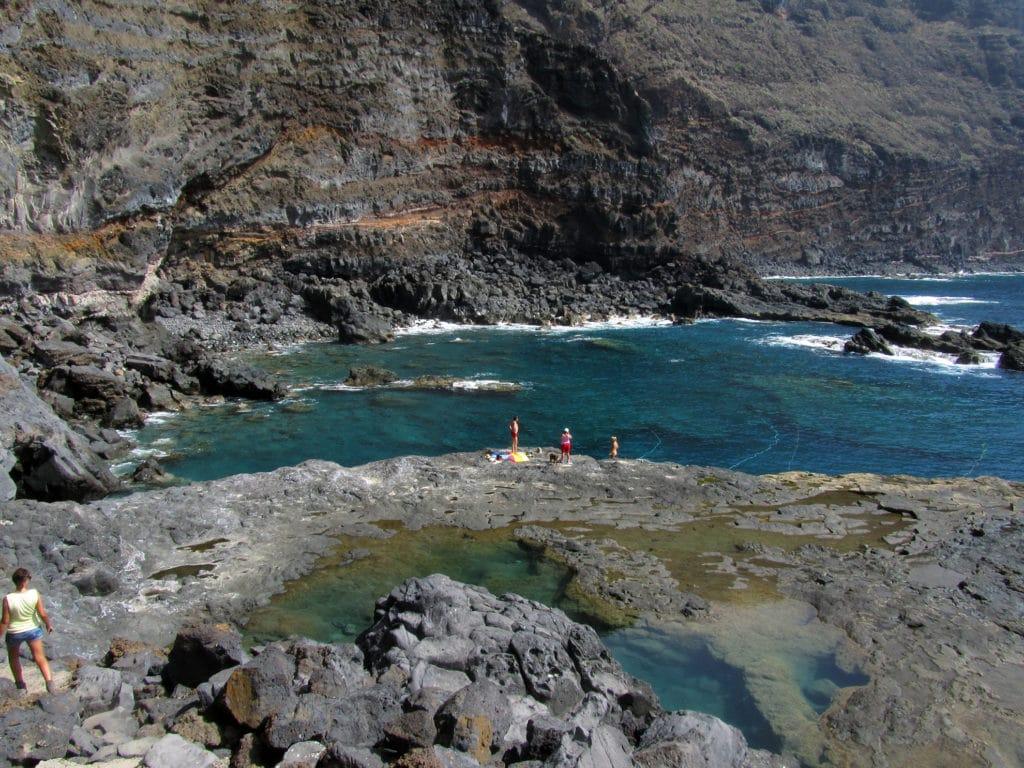 le più belle spiaggie de La Palma Canarie lomada-grande