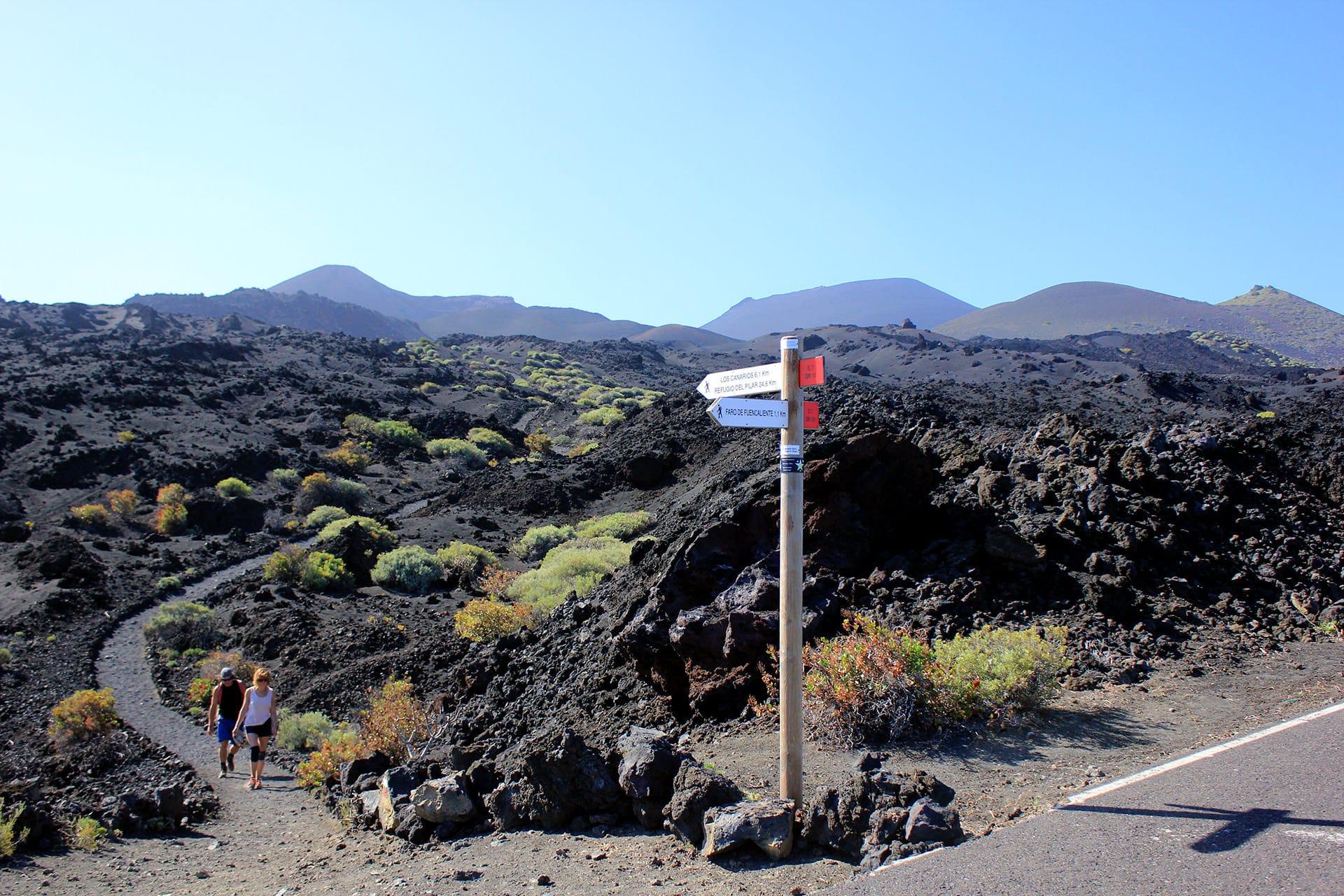 le più belle camminate de La Palma i vulcani