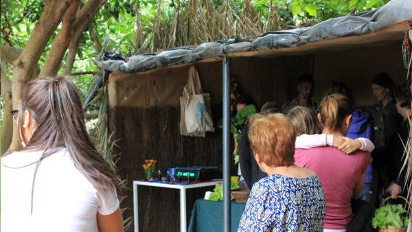 visita guiada huerto ecologico ecofinca el viento a favor