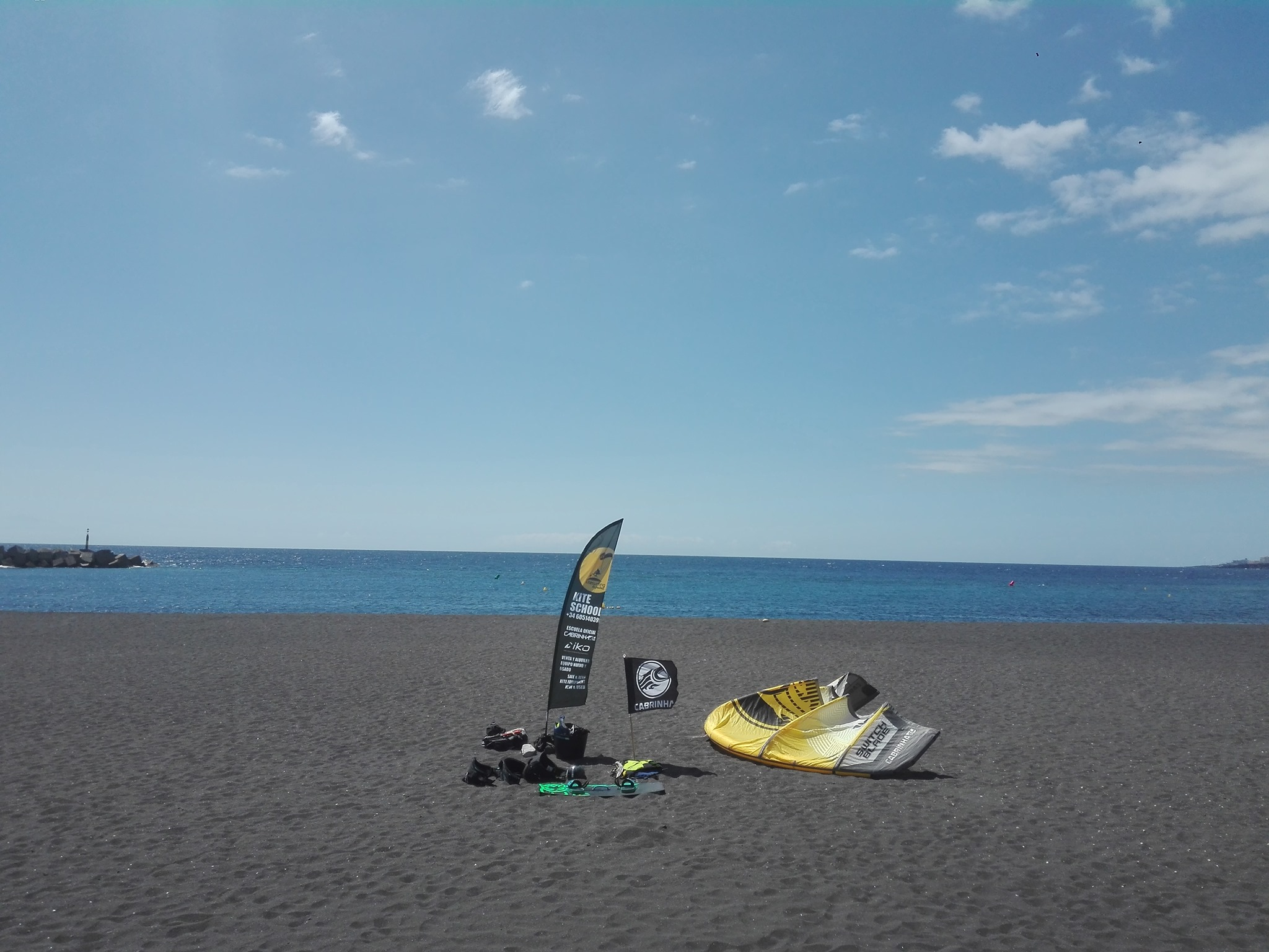 kite surfing la palma corsi e noleggio attrezzatura