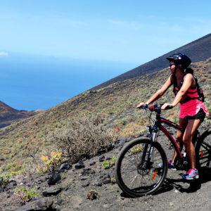 bicicletta elettrica e-bike snorkel snolkeling visite guidate noleggio La Palma Isole Canarie