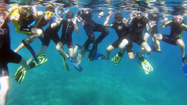 Immersioni a La Palma: Escursione Ecoturismo La Palma istruttore PADI La Palma Natural - Isole Canarietrekking snorkel snolkeling visite guidate noleggio La Palma Isole Canarie
