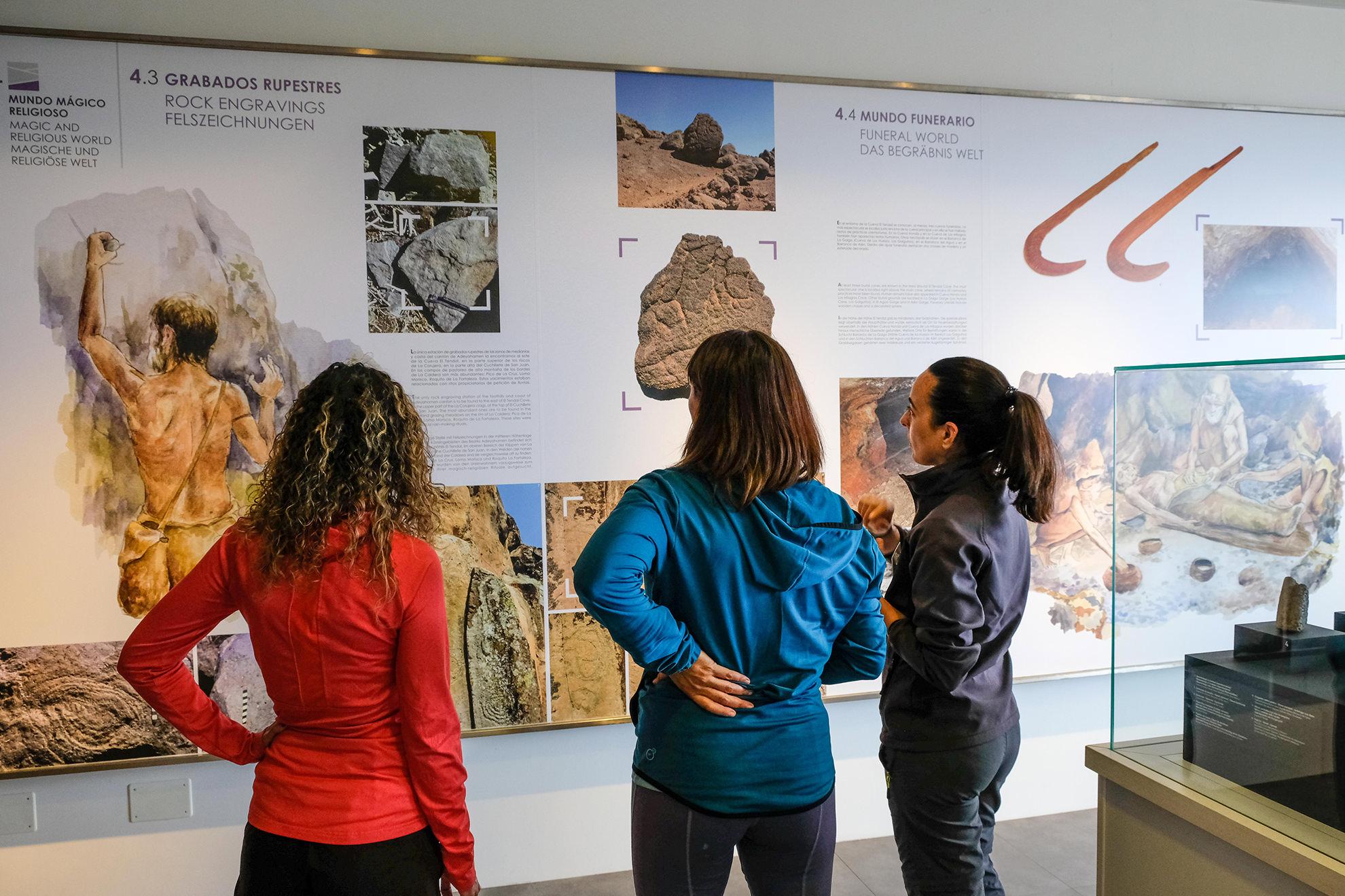 La storia dell'isola de La Palma gli aborigeni benahoaritas auaritas